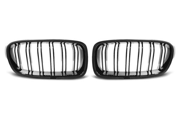 Тунинг решетки бъбреци черен лак за BMW F30 / F31 10.11- M3 LOOK