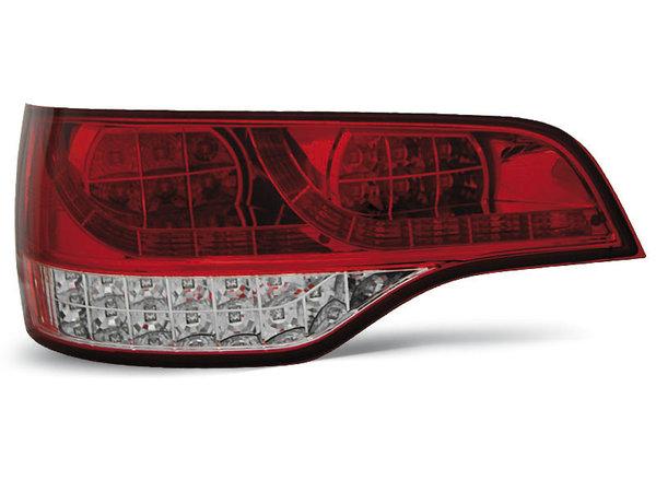 Тунинг LED стопове червени за Audi Q7 2006-2009