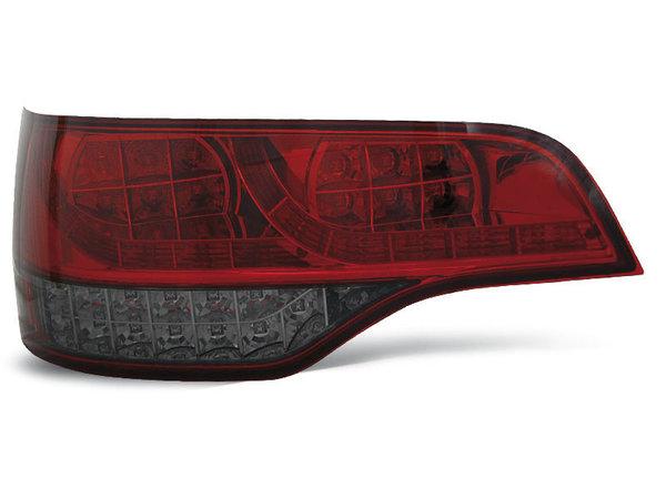 Тунинг LED стопове червени с опушен мигач за Audi Q7 2006-2009