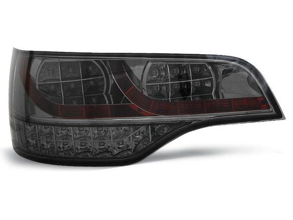 Тунинг LED стопове опушени за Audi Q7 2006-2009