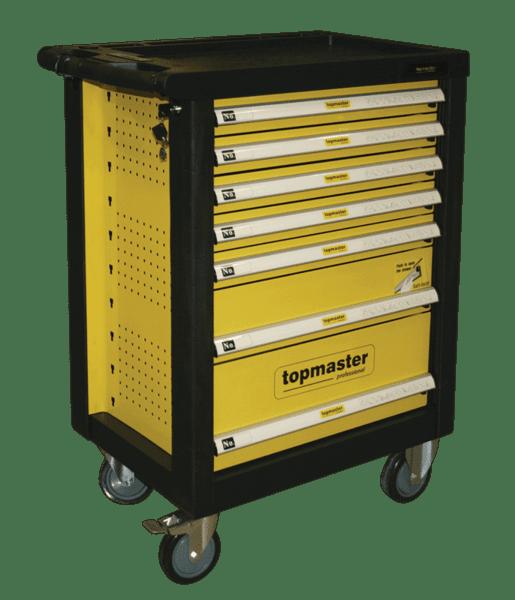 Количка за инструменти с 220 части и 7 чекмеджета - Topmaster
