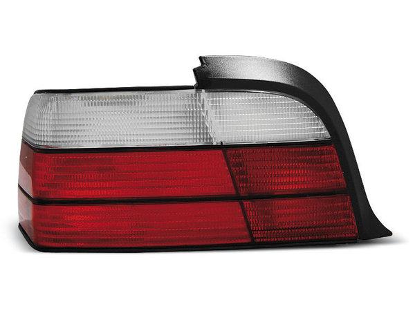 Тунинг стопове за BMW E36 12.1990-08.1999 купе, кабрио с червена и бяла основа