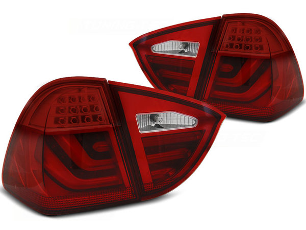 Тунинг LED BAR стопове червени за BMW E91 05-08