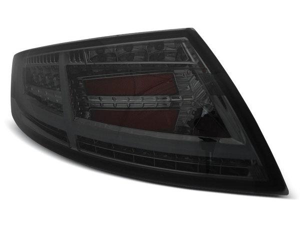 Тунинг LED BAR стопове опушени с динамични мигачи за Audi TT 04.2006-02.2014