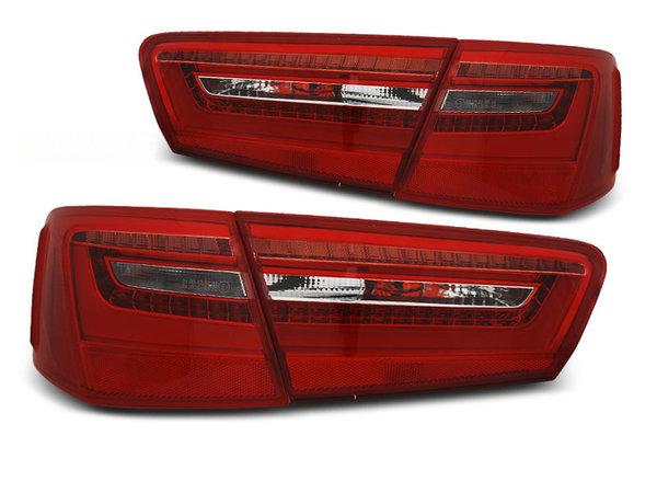Тунинг LED стопове за Audi A6 C7 2011-10.2014, версия без фабрични led стопове