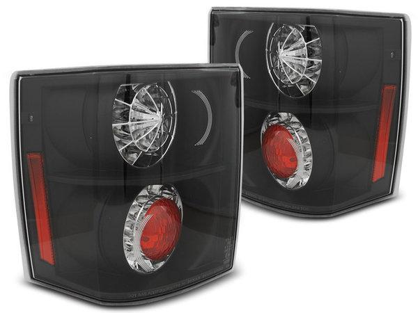 Тунинг LED стопове черни за Range Rover III 2002-2012