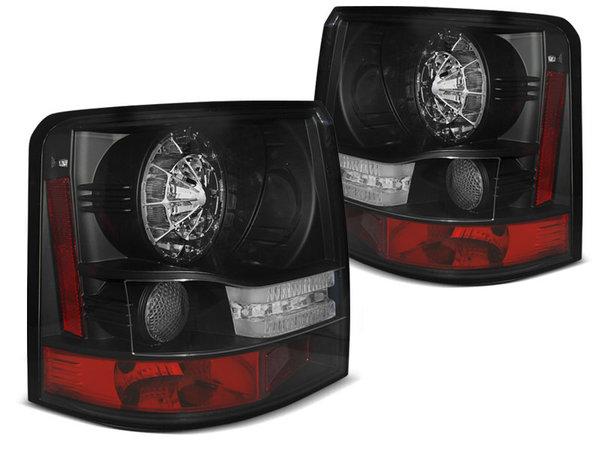 Тунинг LED стопове черни за Range Rover SPORT 2005-2009