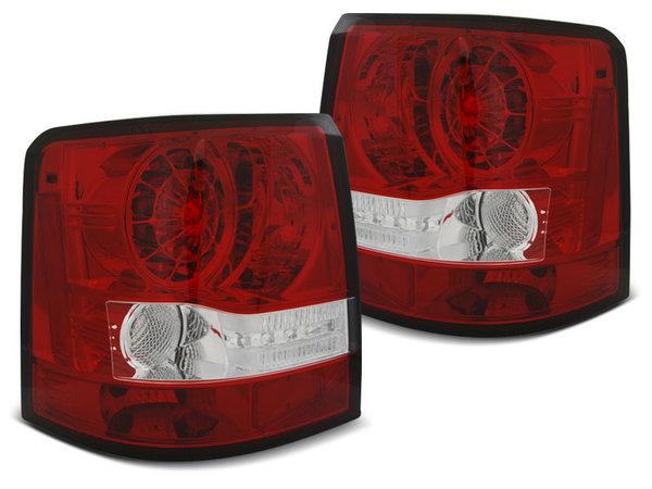 Тунинг LED стопове червено бяло за Range Rover SPORT 2005-2009