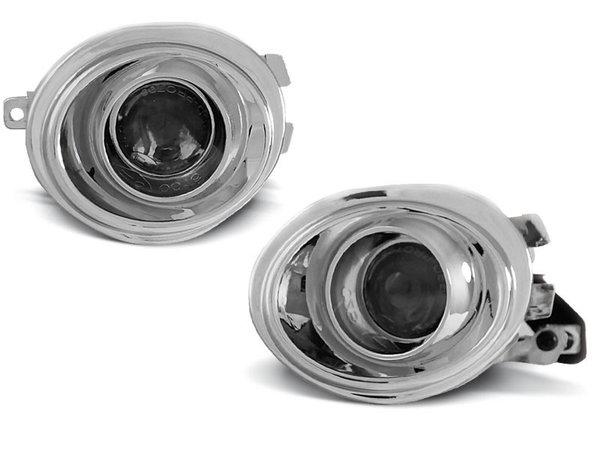 Тунинг халогени с лупи хром за BMW E39 / E46 M-PAKET