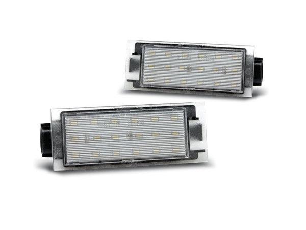 Тунинг LED плафони за RENAULT TWINGO 2/ CLIO 3/MEGANE 2,3/ LAGUNA 2,3