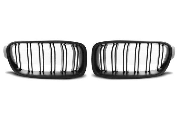 Тунинг решетки бъбреци черни за BMW F30 / F31 10.11- M3 LOOK