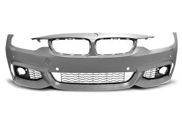 Тунинг броня предна за BMW F32/F33/F36 10.13- M-TECH STYLE PDC