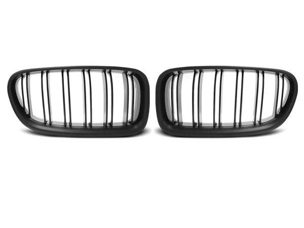 Тунинг решетки бъбреци черен мат за BMW F10 / F11 10- M5 LOOK