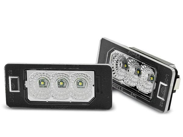 Тунинг LED CLEAR плафони кристални за BMW E90 / F30 / F32 / E39 / E60 / F10 / X3 / X5 / X6