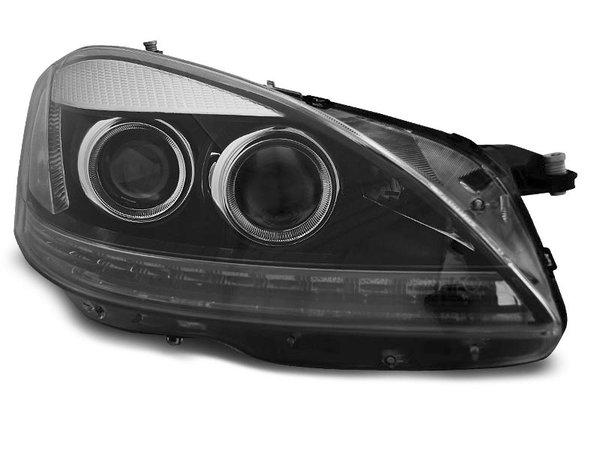 Тунинг фарове черни за MERCEDES W221 S-KLASA 2005-2009