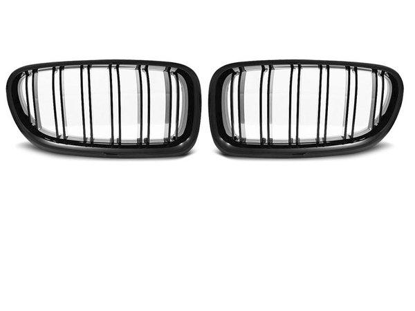 Тунинг решетки бъбреци черен лак за BMW F10 / F11 10- M5 LOOK