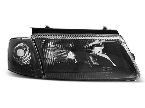 Тунинг фарове черни опушени H7 + H4 с халоген за VW PASSAT B5 3B 11.1996-08.2000