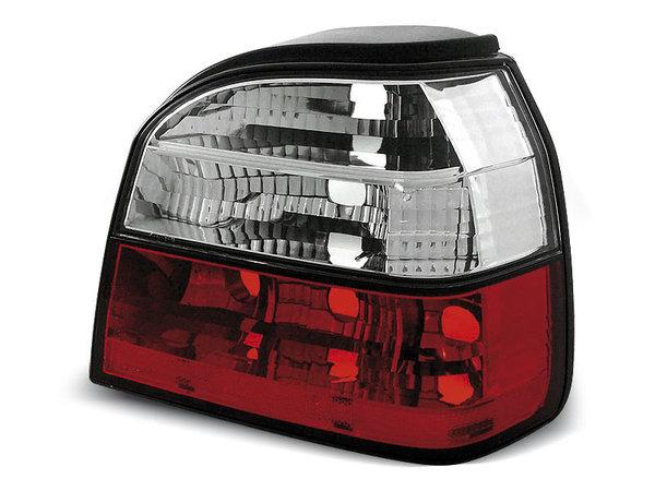 Тунинг стопове D2 за Volkswagen GOLF 3 09.1991-08.1997 хечбек, кабрио с червена и бяла основа
