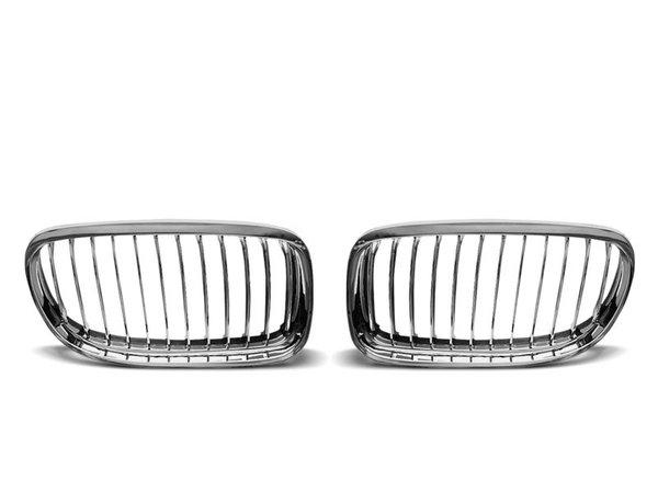Тунинг решетки бъбреци хром за BMW E90 / E91 2009-