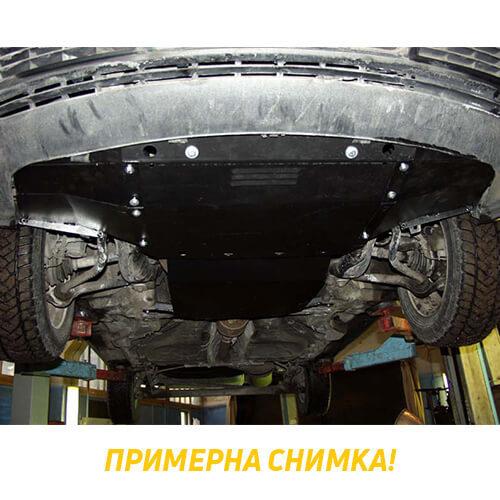 Метална кора под скоростна кутия AUDI A4 (8K2, B8) от 2007 до 2012