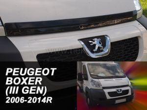 Дефлектор за преден капак за PEUGEOT BOXER / CITROEN JUMPER / FIAT DUCATU (2006+)