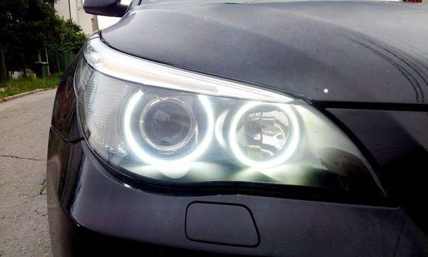 Комплект ангелски очи за БМВ E60 (2003-2007) - диодни