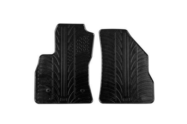 Гумени стелки Gledring за Fiat Doblo Cargo след 2010 година/ Opel Combo 3 врати след 2011 година 2 части черни