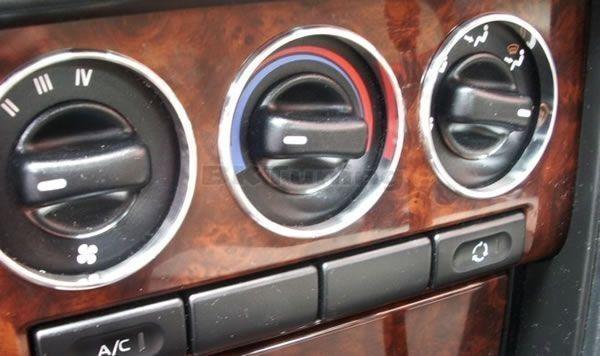 Рингове за копчетата на парното за Хонда Сивик 95-00 UK 5D