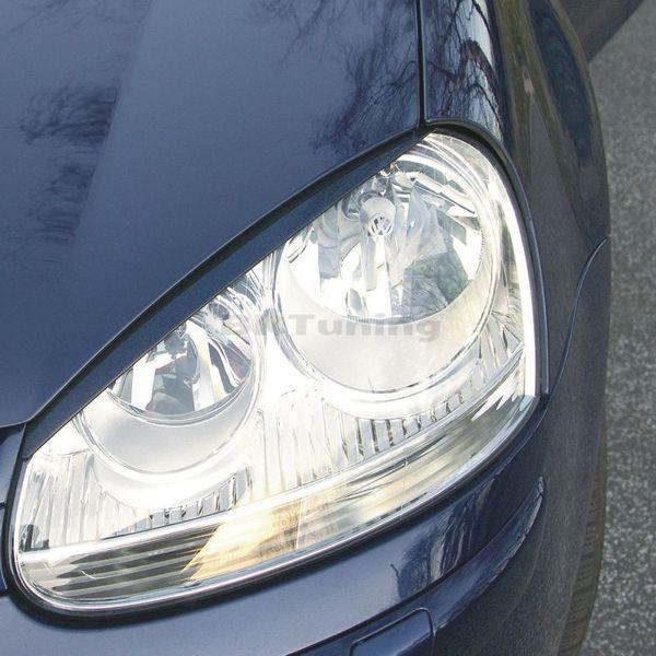 Вежди за фаровете VW Golf 5 - черни