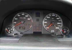 Рингове за табло Audi 80 - хром