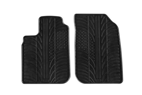 Гумени стелки Gledring за Dacia Logan Pick-UP след 2005 година/Furgon след 2005 година 2 части черни