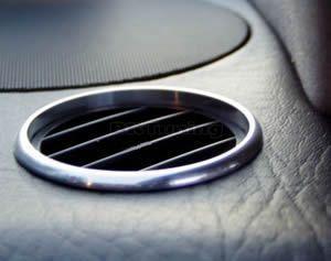 Рингове за въздуховода Audi 80 - хром