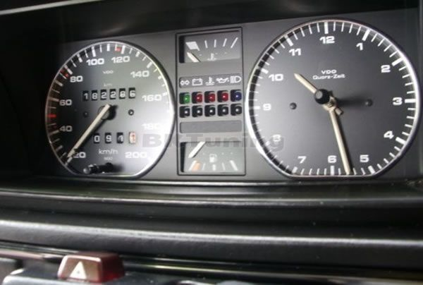Рингове за табло VW GOLF II - хром
