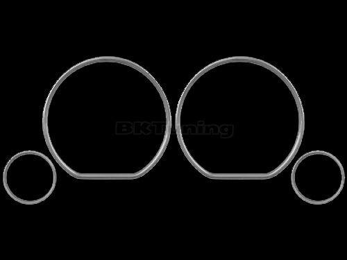 Рингове за табло за Голф 3 / Венто / Сеат Ибиза - хром