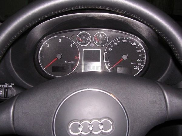Рингове за табло за Audi A3 (8L) / Audi A4 B5 - хром