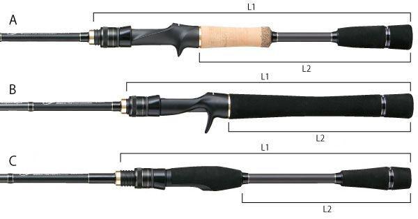 Въдица Tailwalk Fullrange CC S71ML - 2.16 m, 1.77 - 14.17 gr