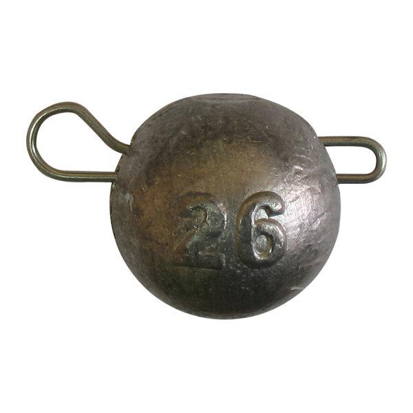 Джиг глава кръгла с подвижна карабинка - 12 g