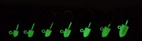Джиг глава Loot Jig Glow - 3.0 g