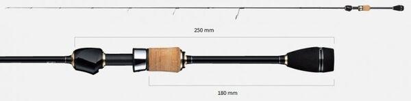 Въдица Tailwalk Silverna Lago 65 Crank - 1.95 m, max 6 g