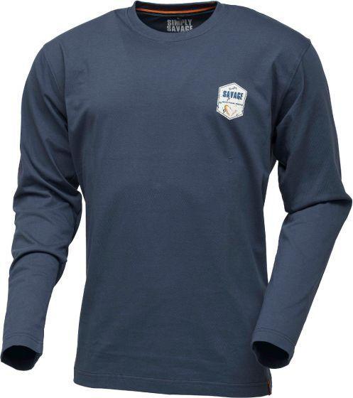 Блуза Simply Savage Rex Tee Long Sleeve Dark Slate Blue - XL
