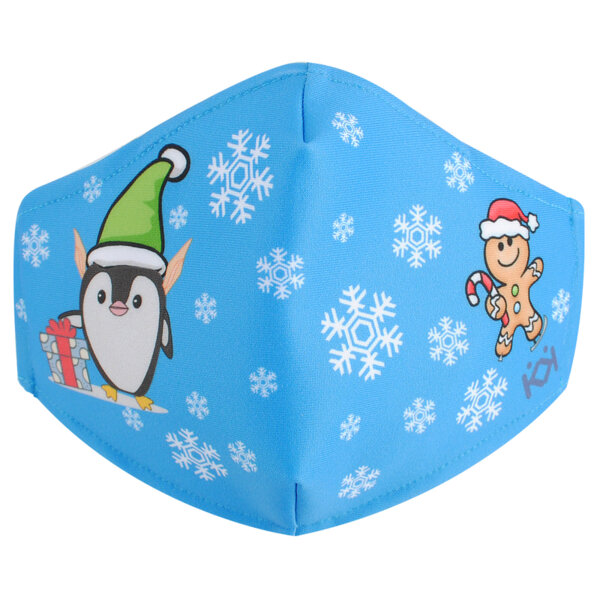 """Маска """"Коледа с Пинги"""""""