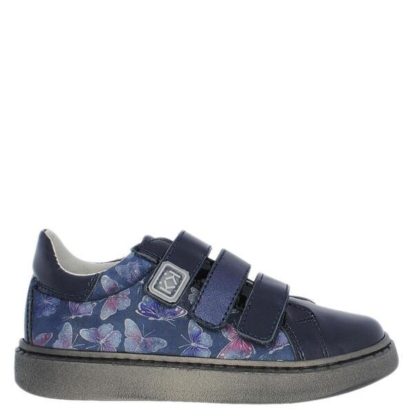 Тъмносини обувки с пеперуди КК