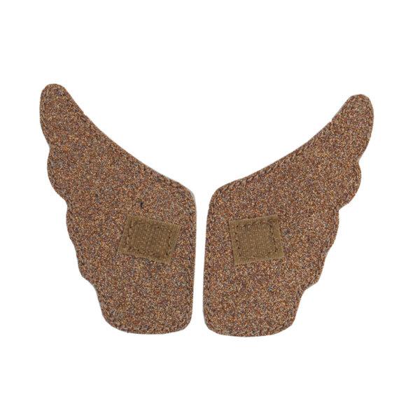 Крила за обувки с лепенки