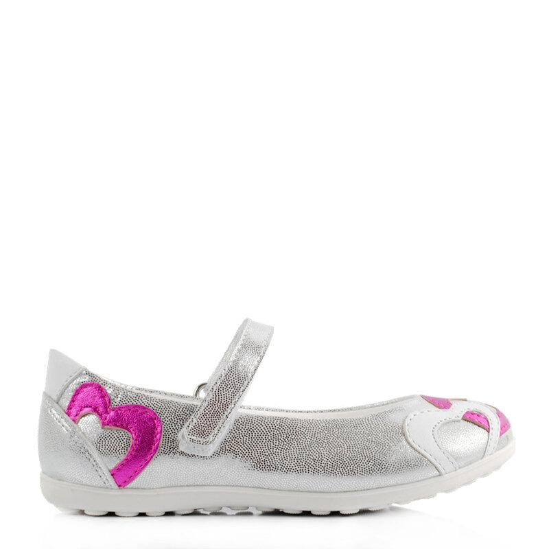 Официални обувки КК в сребристо