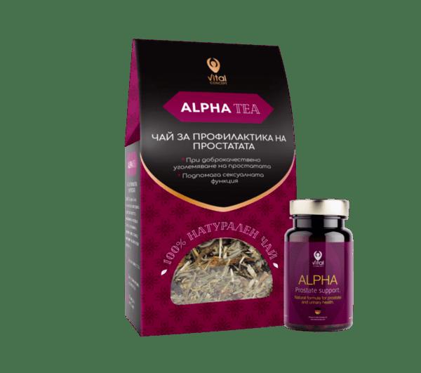 ALPHA+ALPHA TEA