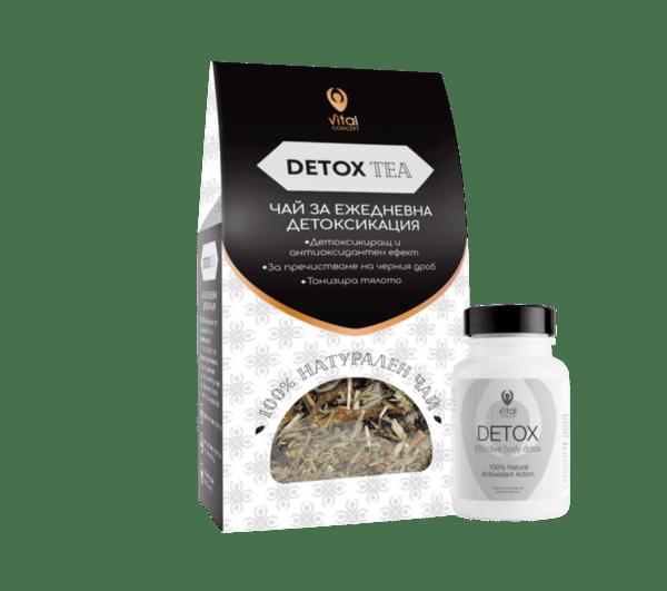 DETOX + DETOX TEA