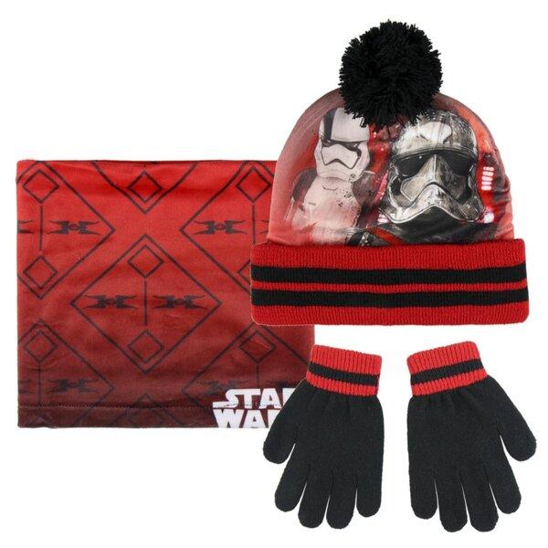 Детска шапка, шал и ръкавици Star Wars (3206)