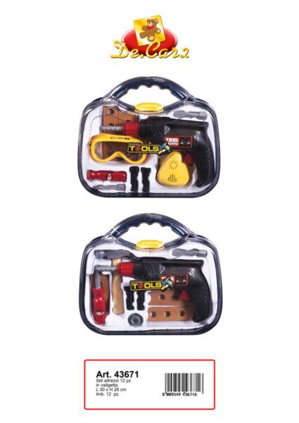 Куфар с инструменти (43671)