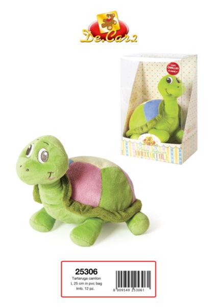 Детска плюшена музикална костенурка (25306)
