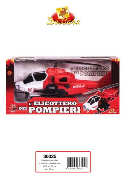 Детски пожарникарски хеликоптер (36025)